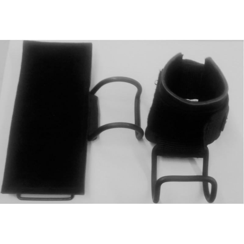 АЙРОНМЭН(IRONMAN) Напульсники усиленные кожаные с крюком (цена за пару!)
