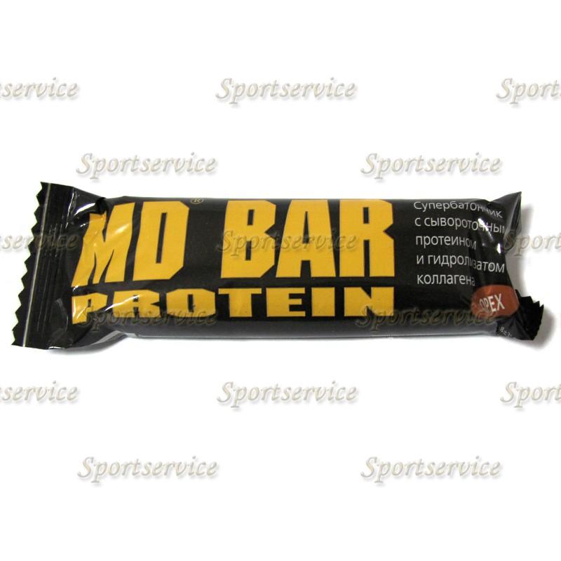 МД батончик с протеином - MD Protein Bar, 50 г