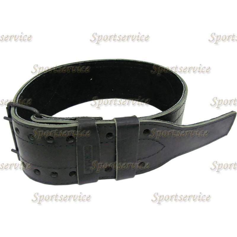 Ремень кожаный АЙРОНМЭН(IRONMAN) 2-х слойный пауэрлифтерский K4