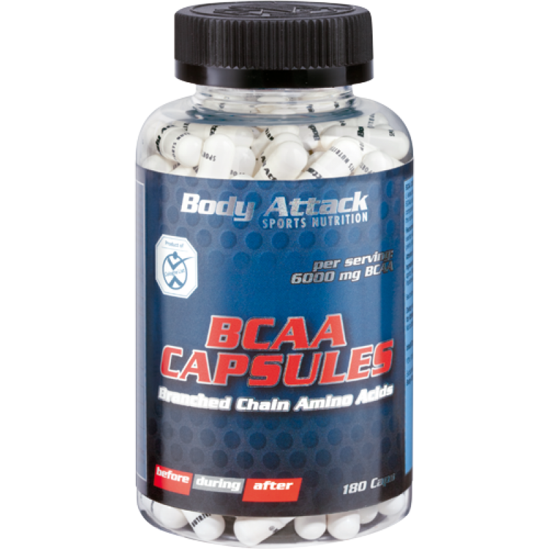 Боди Аттак БЦАА Капсулс - Body Attack BCAA сapsules