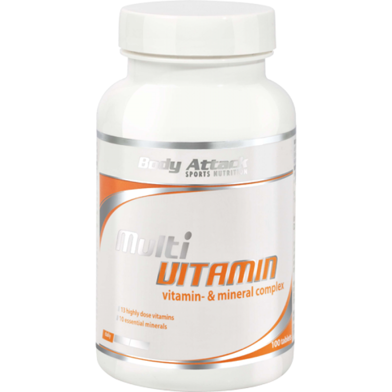Боди Аттак Мульти Витамин - Body Attack  Multi Vitamin