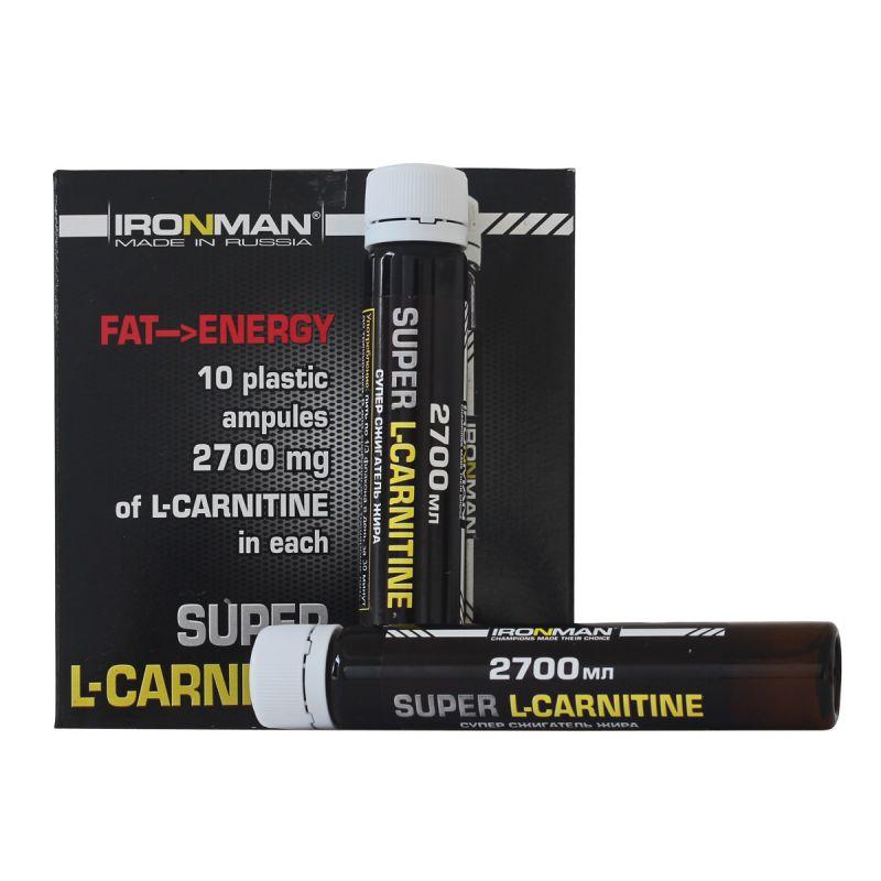 Айронмэн Супер Л-карнитин 2700 - Ironman Супер L-Карнитин 2700