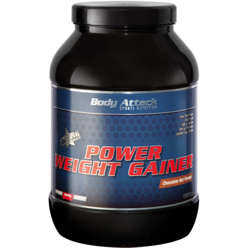 Боди Аттак Пауэр Уэйт Гейнер - Body Attack POWER WEIGHT GAINER
