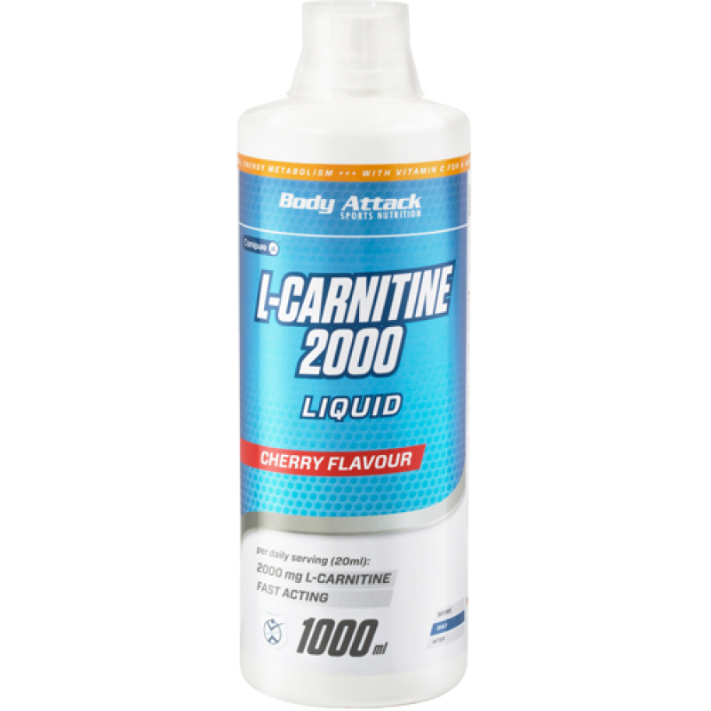 Боди Аттак Л-Карнитин Ликюид 2000 - Body Attack L-Carnitine Liquid 2000