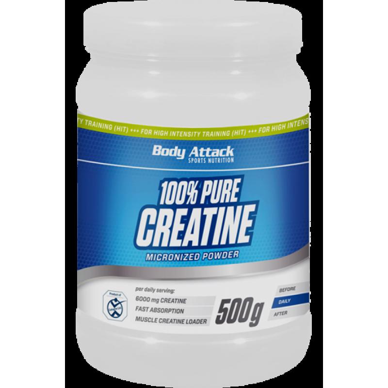 Боди Аттак 100% Пьюэ Креатин - Body Attack   100% Pure Creatine