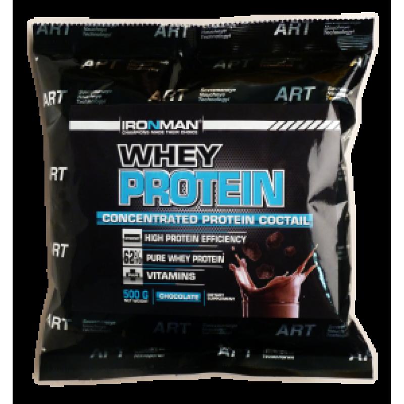 АЙРОНМЭН(IRONMAN) Сывороточный Протеин 62%