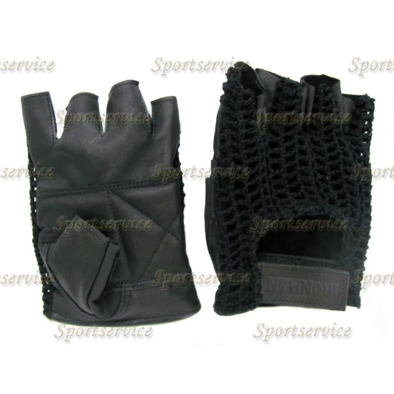 Перчатки мужские АЙРОНМЭН(IRONMAN) с вязаным верхом