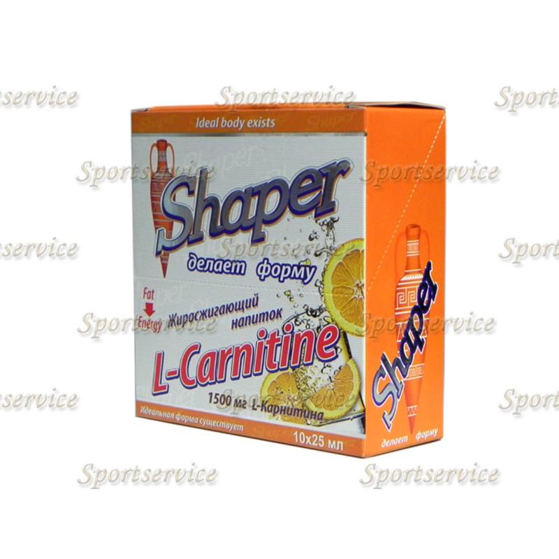 Шэйпер Л-Карнитин Амфора V - Shaper L - Carnitine Amphora V (10 амп.х25 мл)
