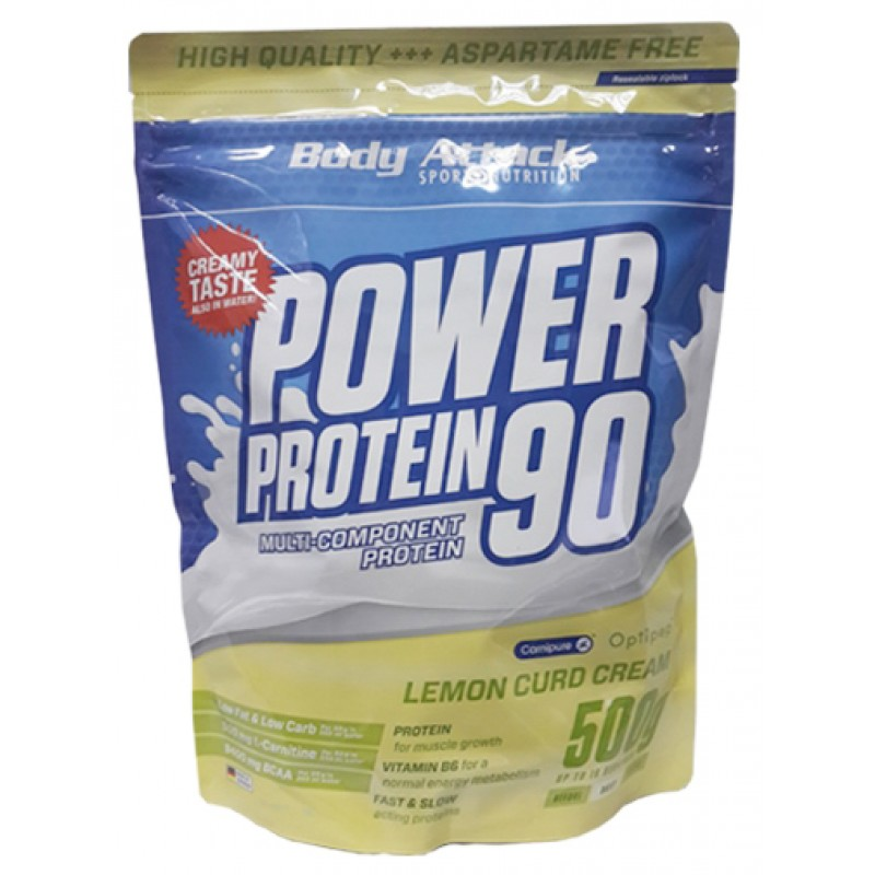 Боди Аттак Пауэр Протеин 90 - Body Attack POWER PROTEIN 90