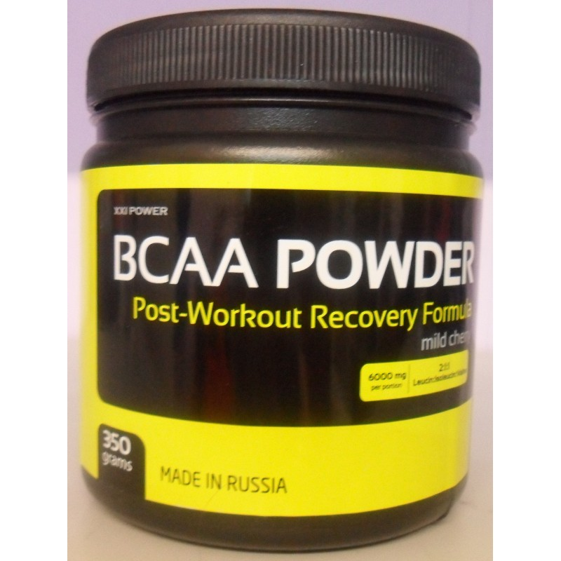 XXI Пауэр БЦАА Поудэр - XXI POWER BCAA powder, 350 г