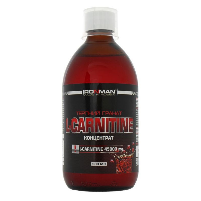 IRONMAN L-CARNITINE КОНЦЕНТРАТ